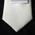 【慶事用】白ネクタイ【巾6.5cm】ナロータイ:シルク100%【日本製】
