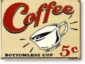 ★よりどり3点送料無料★アメリカン雑貨★看板★直輸入★レトロ調コーヒー