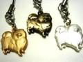 ♪犬ちゃんシリーズ!【オリジナル★プリティー・ペットクラブ】ポメラニアン ストラップ