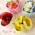 【ケースに香りつきのバラの花を詰めました☆ハート型がかわいい♪】ハートフルローズ