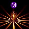 【オイルランプ】<サイズM>グラスランプ