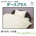 【ペールグリーン/ダースプラス】(掛カバー、敷カバー、BOXシーツ、ピロケース、セット)日本製 寝具