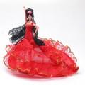 【スペイン製】Marin社フラメンコドール バタ・デ・コーラ バイラオーラ フラメンコ衣装 人形