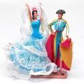 【スペイン製】Marin社 ペア フラメンコドール マタドール バイラオーラ フラメンコ衣装 人形