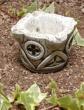 使い込む程味が出ます【Gardening Spanish Stone】スペイン製ガーデニング砂岩アシュトレイ9cm