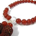 パワーストーンお数珠 赤メノウ 8mm