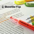 【蛍光マーカー】カブトムシの角ようなペン先の3way marker ・ Beetle Tip(ビートルティップ)