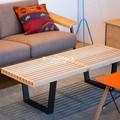 【ジョージ・ネルソン】ネルソンベンチ メープル材 デザイナーズ家具 無垢材 直送可能