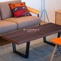 【ジョージ・ネルソン】ネルソンベンチ ウォールナット材 デザイナーズ家具 無垢材 直送可能
