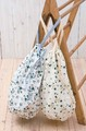 [バッグ] デイジーフラワー ランドリーバッグ バッグも収納に便利です