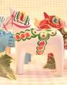 北欧直輸入♪幸せを呼ぶダーラナホースの置物15cm◆北欧雑貨卸の(有)籐芸