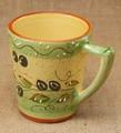 ポルトガル製 陶器 手描き オリーブ柄 食器 マグカップ グリーン ギフト プレゼント に