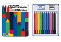 消せる、削れる色鉛筆「クーピーペンシル」