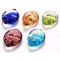 【特価品】ガラスピッグ箸置 5色