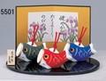 ★端午の節句★「置物とインテリア」 五月人形 No12 鯉のぼり 福鈴