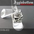 SVR-032 イギンボトムコレクション◆IgginBottom◆シルバーリング 天然ブラックスター 21号
