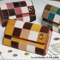 【ピンクが再入荷!!】La ciel briller 3 本革 長財布★レディース レザー ブランド