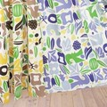 [カーテン]ポップで明るいデザインは子供部屋にも★北欧な雰囲気