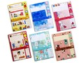 【可愛い封筒・便箋・シールのセット♪】コミュニケーションレターセット2(キャラクター)