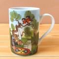 【クルテク】大きめサイズ♪マグカップ(ピクニック)