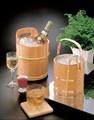 【キッチン】椹・アイスペール(トング付)/ひんやり ワインクーラー <酒器>