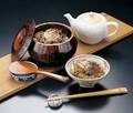 【キッチン】<和食器> ひつまぶしに◆摺り漆木製飯器(蓋付)