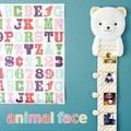 【売り切れ次第終了】【即納可能】アニマルフェイス 身長計 クマ