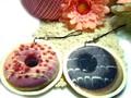 ●●● SALE 今度はファストフード ドーナツデザインのフエルト素材のストラップ ●●●