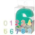 【Price's】ナンバー キャンドルセット 【0〜9までの数字のセット】