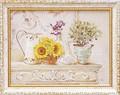 ミニ ゲル アートフレーム【低単価アート】フラワー/花柄<樹脂フレーム>