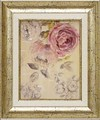 フェリー ステファニア アートフレーム【ローズアート】フラワー/花柄<樹脂フレーム>