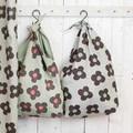 [バッグ] マーケットバッグ 巾着のような個性的なバッグ