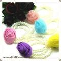 ∵・∵・SALE200 薔薇 バラ ローズ パールブレスレット  カラー5色 ・∴・∴