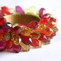 【インテリア・小物】<色んな用途に使えるリング>RING Lime & Red