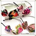 ○o。○ SALE 花柄の大きなリボン風カチューシャ 4カラー。o○