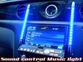【即納】 12V車用 サウンドコントロール ミュージックライト