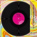 【懐かしき思い出をレコードに】カラー色紙 LPレコード柄