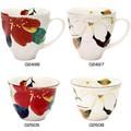 ■美濃焼陶器単品 ■和藍 花かいろうマグカップ・煎茶碗