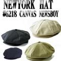 NEWYORK HAT #6218  CANVAS  NEWSBOY  13499
