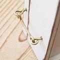 [ブラス]ツール・フック 趣きのある真鍮は お部屋作りに活かせるアイテム