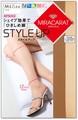 [日本製:脚を科学]ミラキャラット STYLE UP 全4色