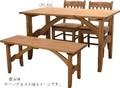 【直送可】■ダイニングテーブル長方形■素材の風合いを生かしたオイル仕上げ