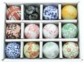 【陶器置物シリーズ】浮き球小 s/12 【売れ筋】