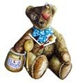 ◆英アソート対象商品◆【英国雑貨】Lark Rise Designs 壁掛け時計 Teddy Bear(LRC14)