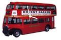 ◆英アソート対象商品◆【英国雑貨】Lark Rise Designs 壁掛け時計 ロンドンバス(LRC5)