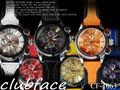人気♪ユニセックス(男女兼用)ウォッチ☆革ベルト♪clubface腕時計 CF-1063