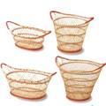 トート型バスケット/バスケット(Seagrass and Coconuts) -1050