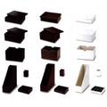 ペン入れ:収納:ファイル:ステイショナリーBOX/バスケット(Color fake leather) -1050