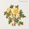 【刺繍シート】黄色い花