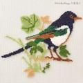 【刺繍シート】青い鳥